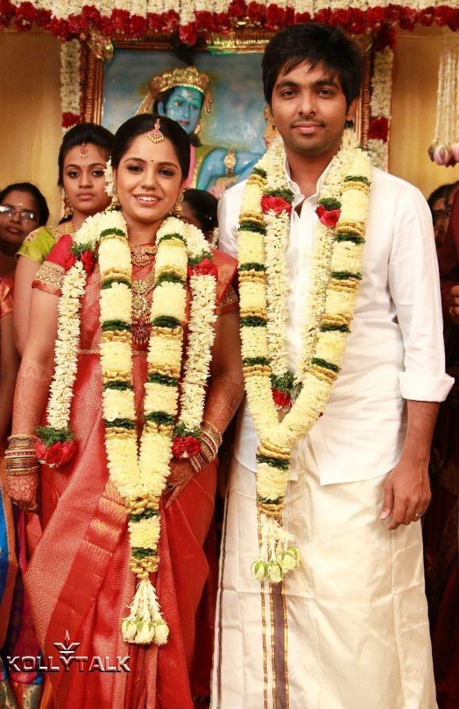 G V Prakash And Saindhavi Marriage