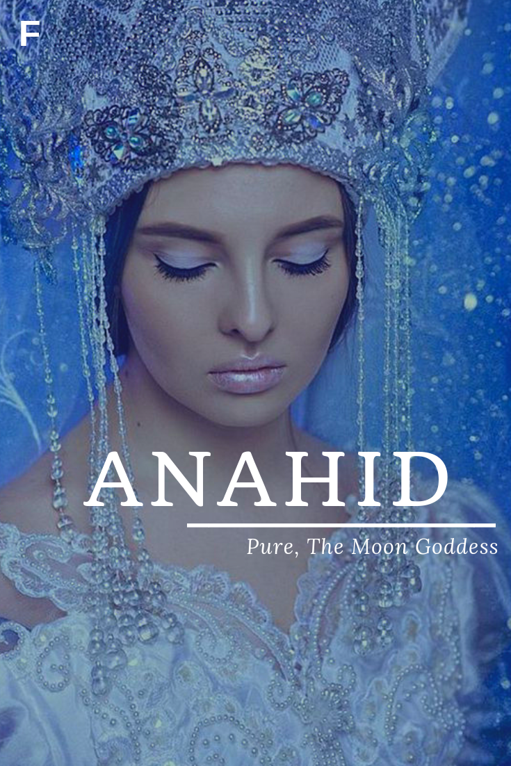 Anahid Meaning Pure Or The Moon Goddess Armenian Names A Baby