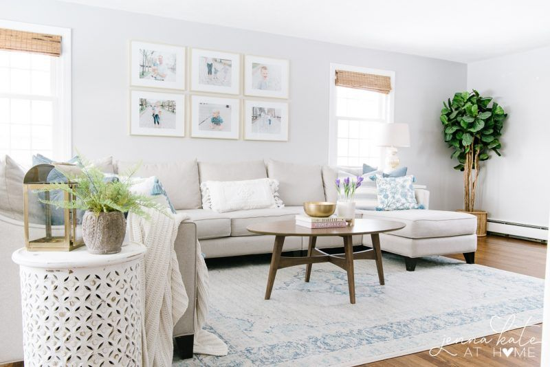 Spring Home Tour Spring Living Room Home Living Room Grey #repose #grey #living #room