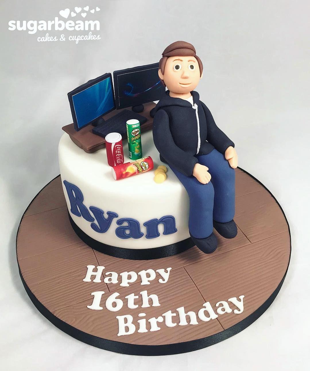 Stupendous 16Th Birthday Cake Boys 16Th Birthday Cake Funny Birthday Cards Online Chimdamsfinfo