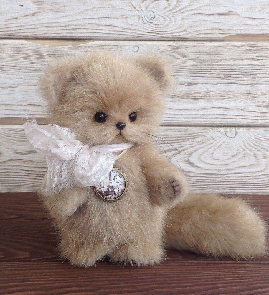 Teddy Bear Kitten 5 7 By Sofia Batalova Teddy Bear Kitten Bear