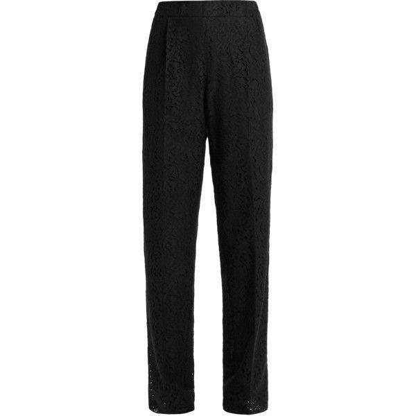 straight-leg trousers - Black N wJ0hRrftc