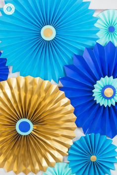 Paper Rosettes Quick And Easy Paper Craft Diy Paper Rosettes