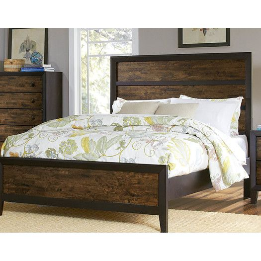 Woodbridge Home Designs Arcola Panel Bed Bedroom Sets Queen