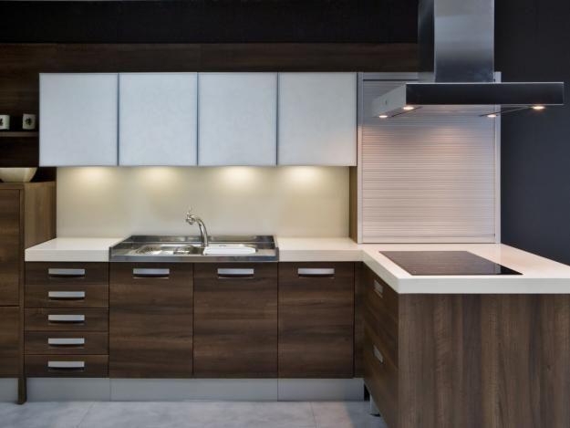Asombroso Cocina Blanca Cabina Canadá Ornamento - Ideas de ...