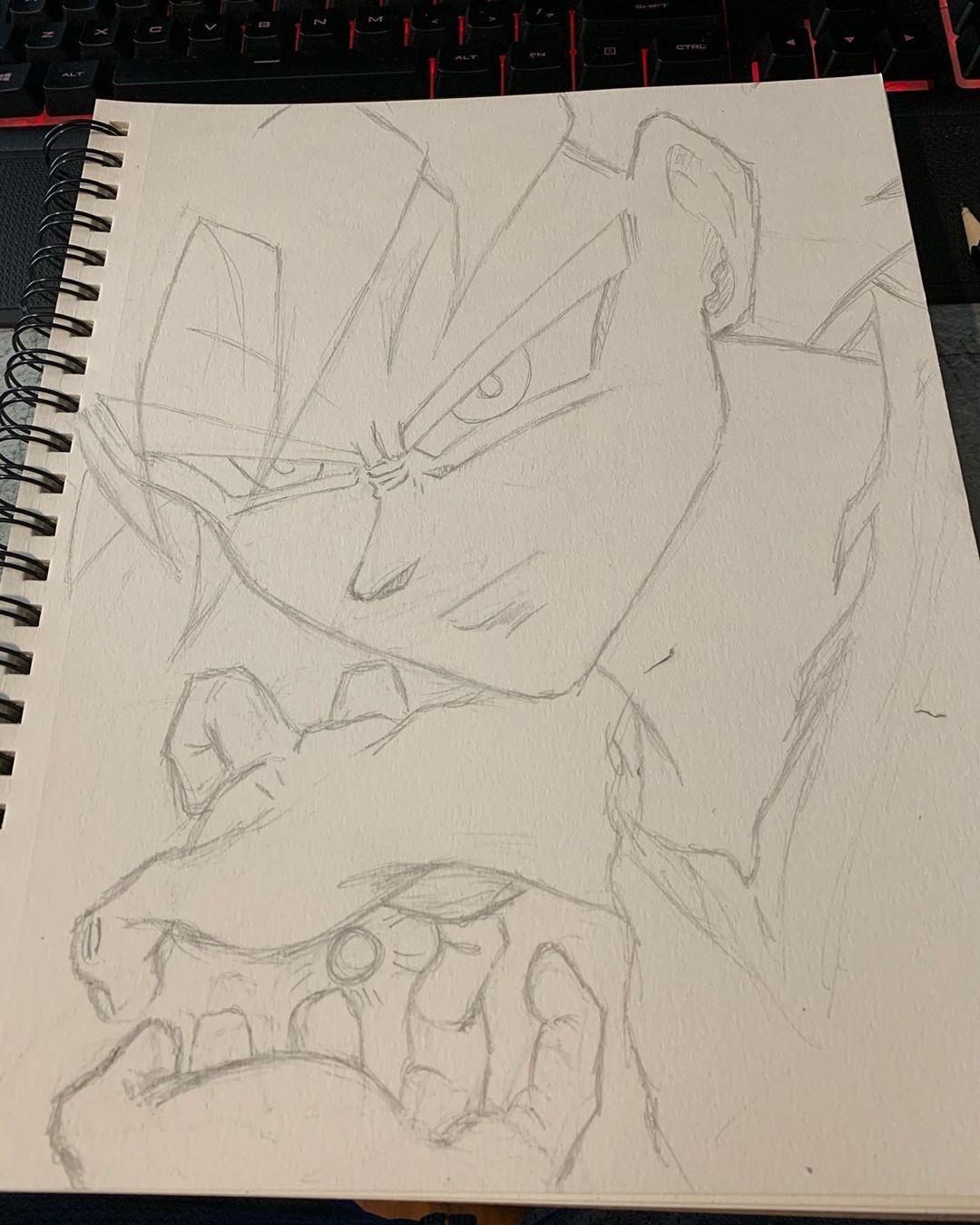 #drawing #drawings #sketch #sketchbook #sketching #art #artwork #artist #artistsoninstagram #dragonball