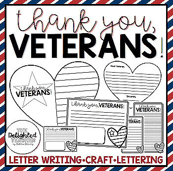 Thank You Veterans Veterans Day Bundle In 2021 Letter Writing Template Thank You Veteran Veterans Day Thank You