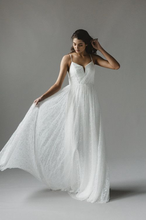 Sally Eagle's Harlow wedding dress from her bridal collection