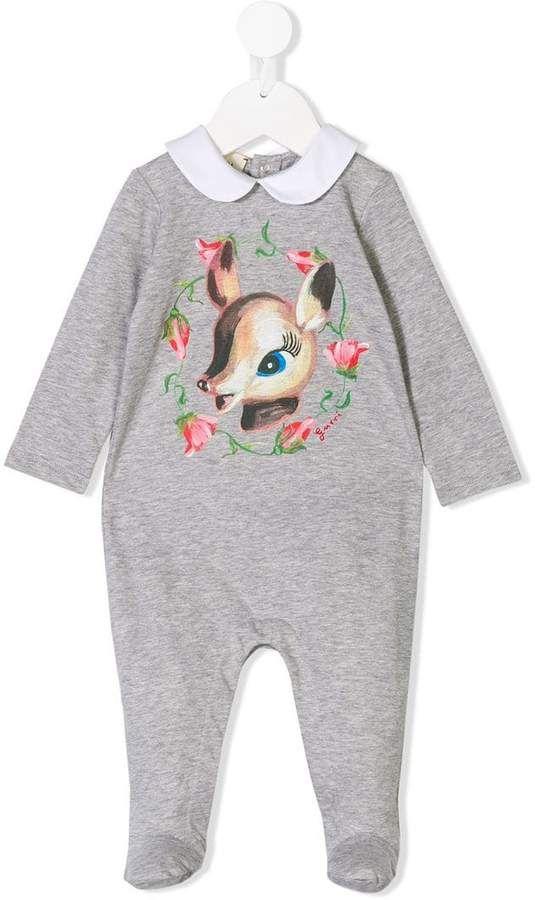 7a4f8849255 Gucci Kids bambi print romper