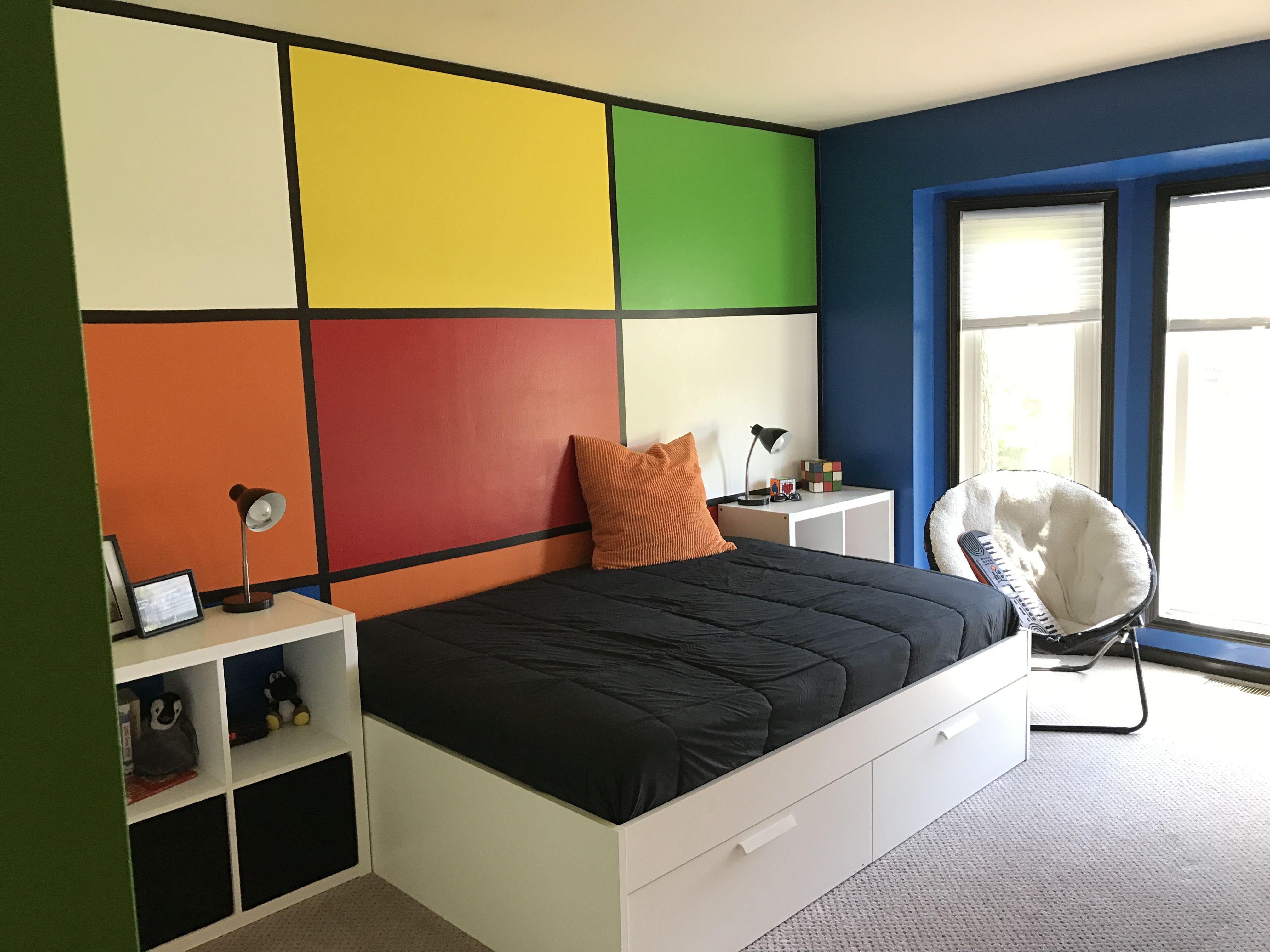 Rubik S Cube Wall Room Room Redo Bedroom Decor