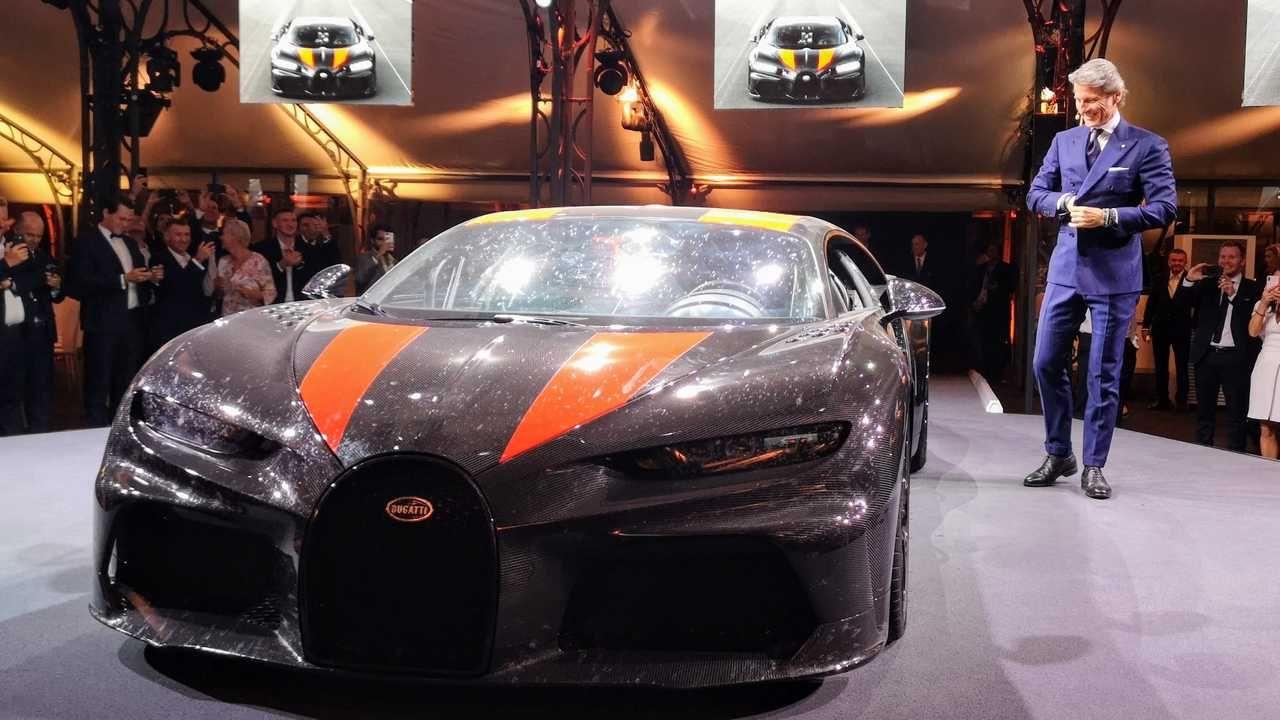2021 Bugatti Chiron Super Sport 300 2021 Bugatti Chiron Super Sport 300