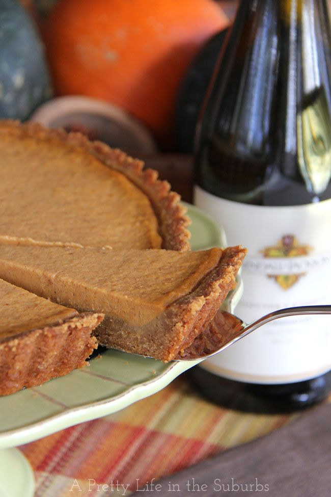 Pumpkin Tart With A Gingersnap Cookie Crust Recipe Recipe Pumpkin Tarts Sweet Tarts Cookie Crust Recipe