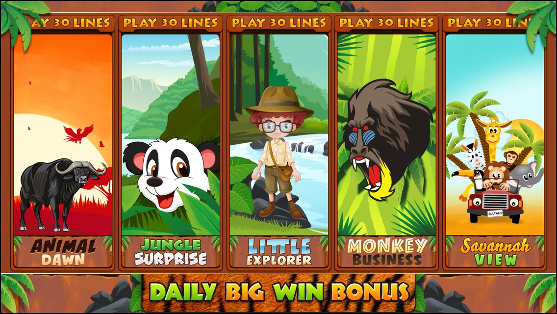 Play wildlife slots
