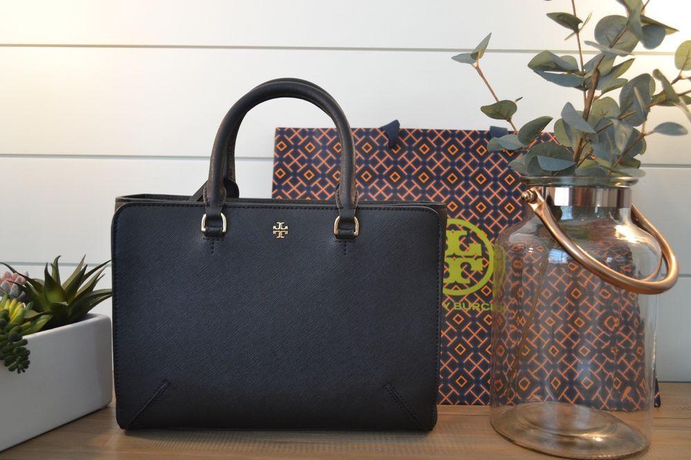 d9e253b8e74 NWT Authentic Tory Burch Emerson Small Zip Tote Leather Shoulder Handbag  50707  fashion  clothing  shoes  accessories  womensbagshandbags (ebay link)