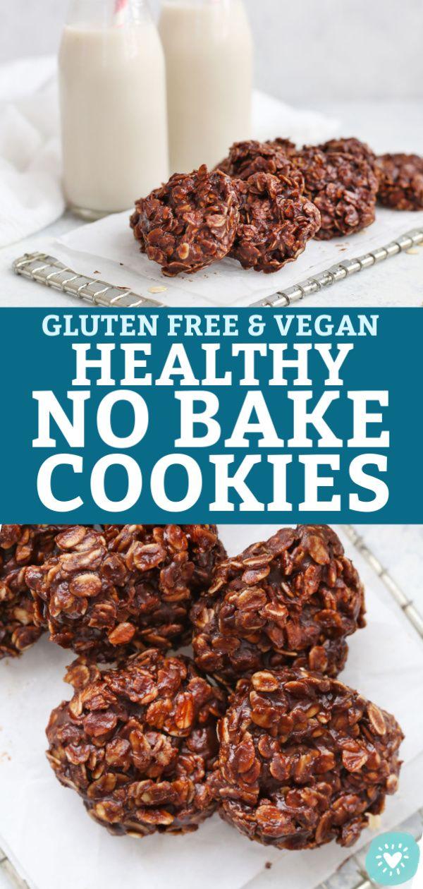 Healthy No Bake Cookies Gluten Free Vegan