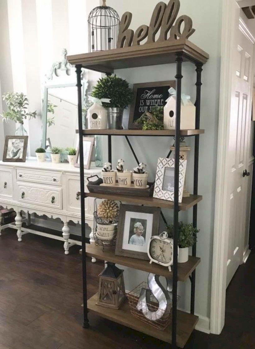 43 Rustic Kitchen Storage Shelves Makeover Ideas Kitchen