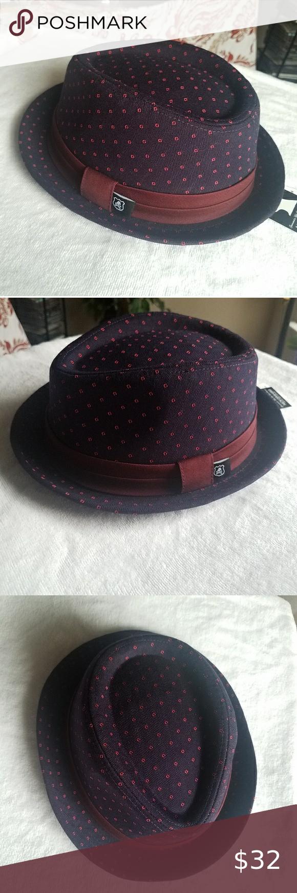 Nick Graham Hat Hats Accessories Hats Red Purple