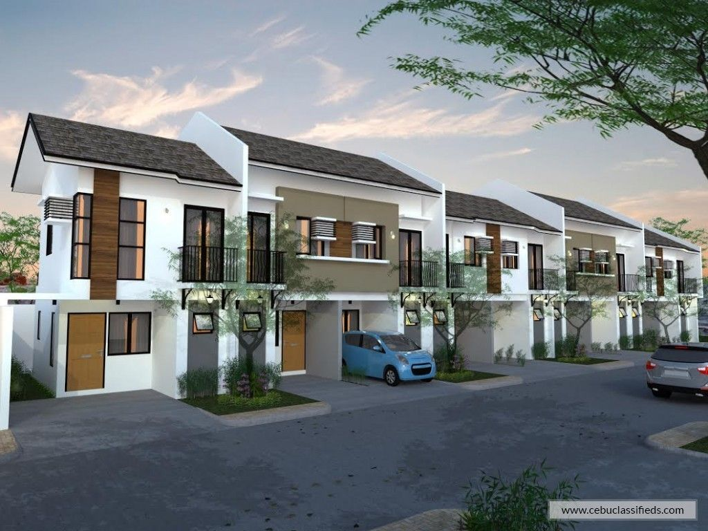 3 Bedroom Townhouse For Sale In Talisay Cebu Cebuclassifieds In 2020 Townhouse Designs Townhouse Real Estate Houses