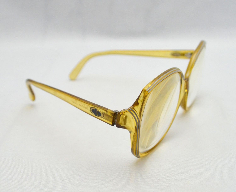 d7b1adbd791a Vintage Christian Dior Eyeglass Frames