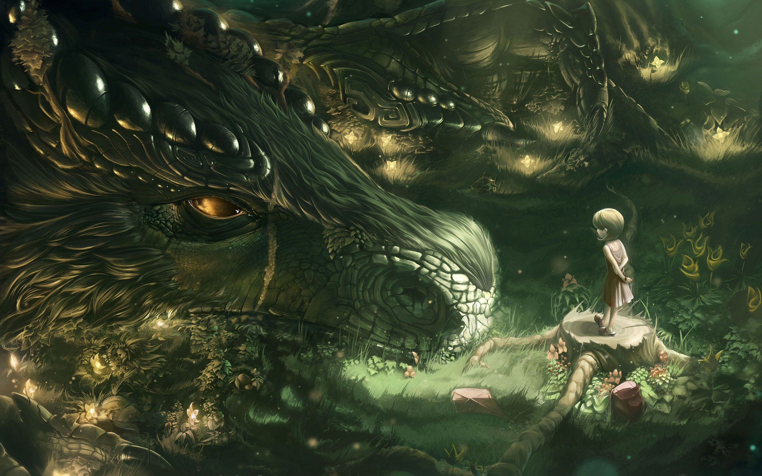 Anime Dragons Fantasy Art Wallpaper No 62 Wallhaven