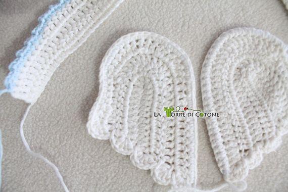 Tutorial Angioletto Amigurumi : Presepe all uncinetto schema angelo amigurumi amigurumis