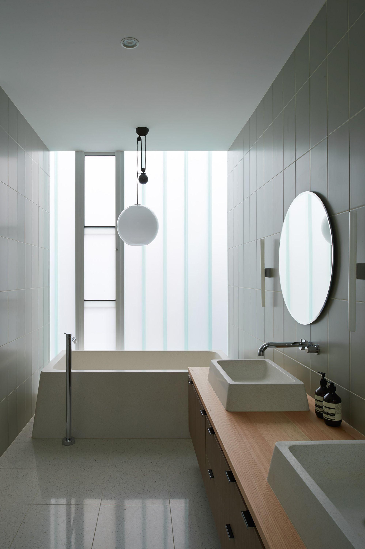 kopolit glass facade and minimalist bathroom | in-design | Pinterest ...
