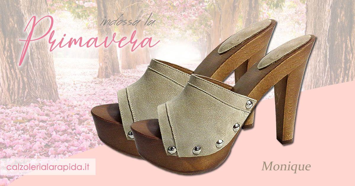 taglia 40 7281f 8959d Zoccoli in legno estate 2019, zoccoli e sandali alla moda ...