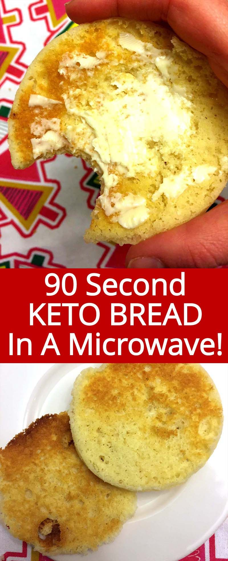 Easy Cauliflower Rice Recipe Mug Recipes 90 Second Keto Bread