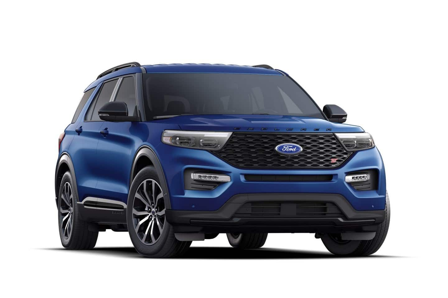 2020 Ford Explorer S T in Atlas Blue Ford explorer, 2020