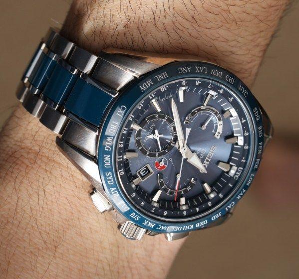 dfad72d1fb8 Seiko Astron GPS Solar Dual Time Watch Review Wrist Time Reviews ...
