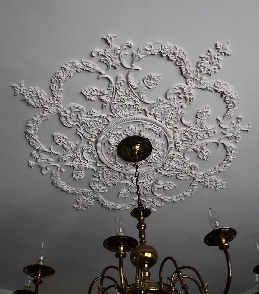 custom ceiling medallion by - Ceiling Medallion