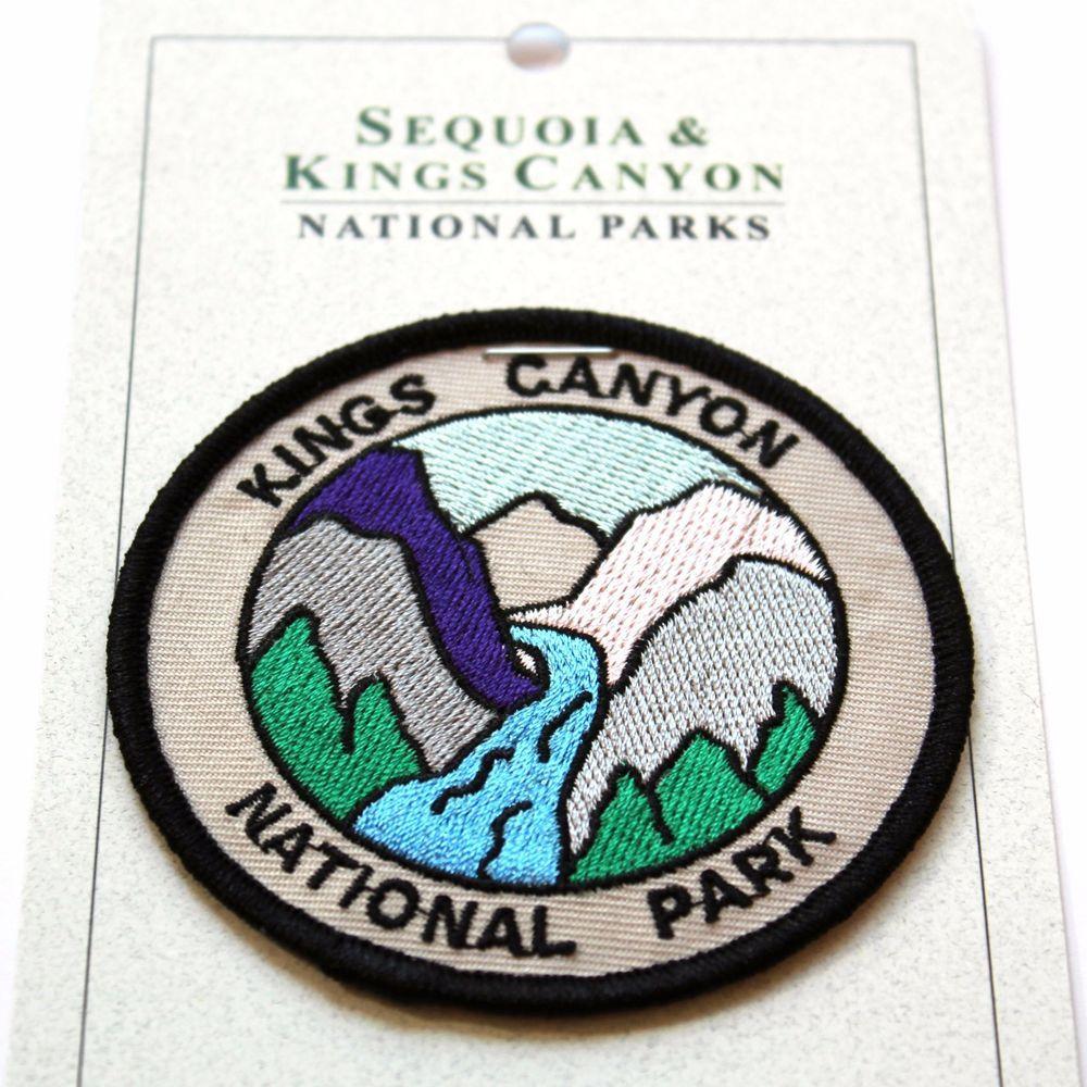 Details About Official Kings Canyon National Park Souvenir