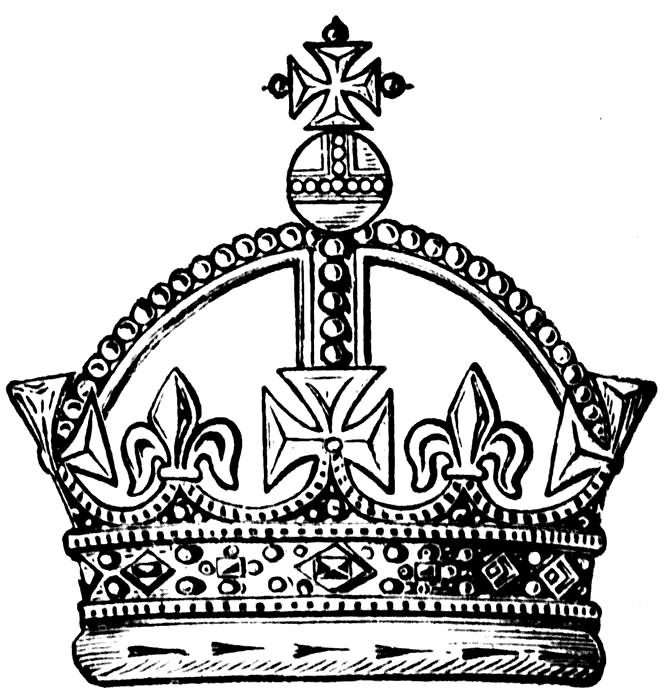 Dessin Couronne Transparent Kings Crown Tattoo Design Sample