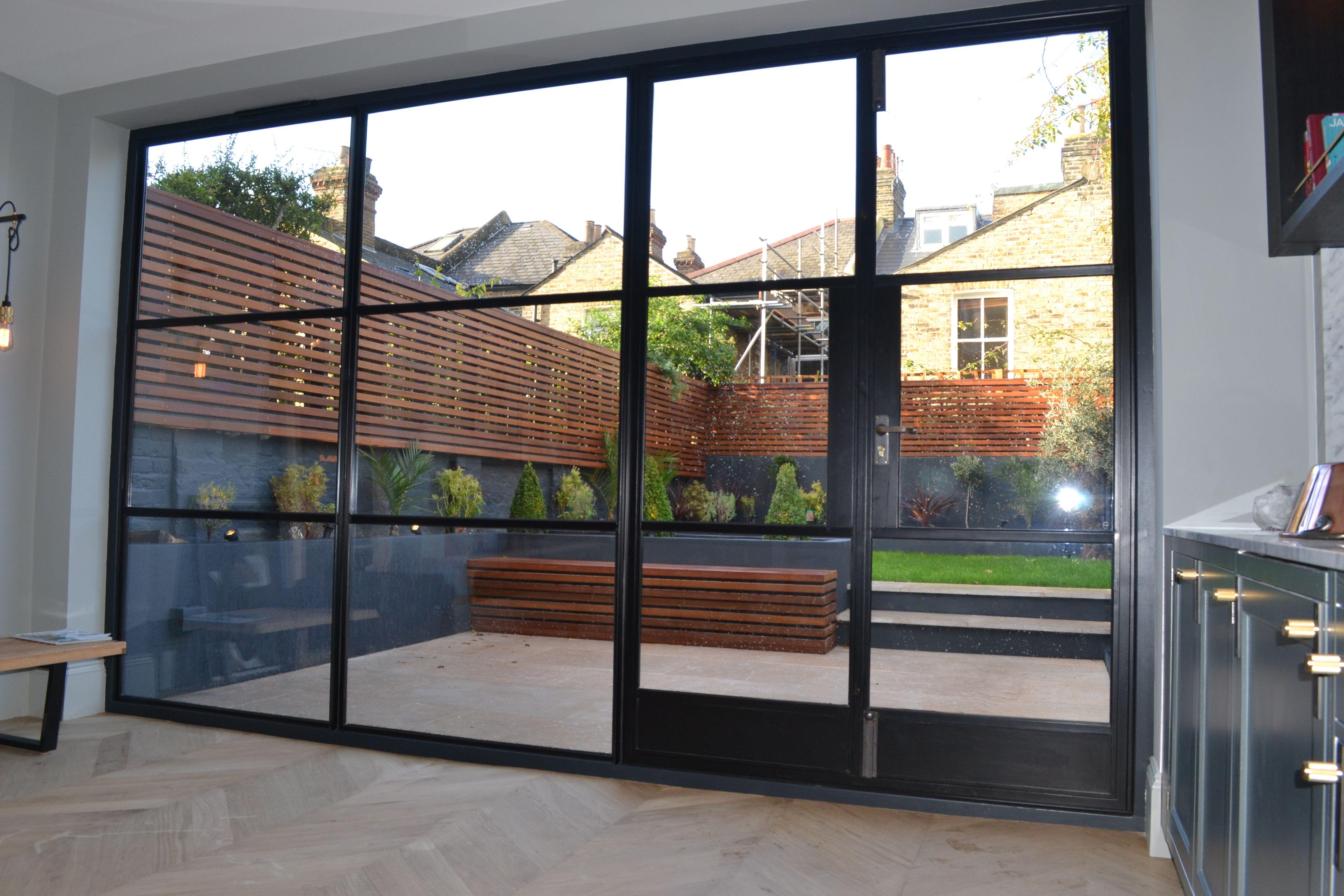 Crittall door screen by Lightfoot Windows (Kent) Ltd. & Crittall door screen by Lightfoot Windows (Kent) Ltd. | Ground floor ...