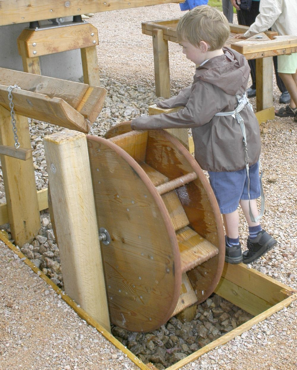 Outdoor Play Equipment: Natural Outdoor Wooden Play Equipment & Design