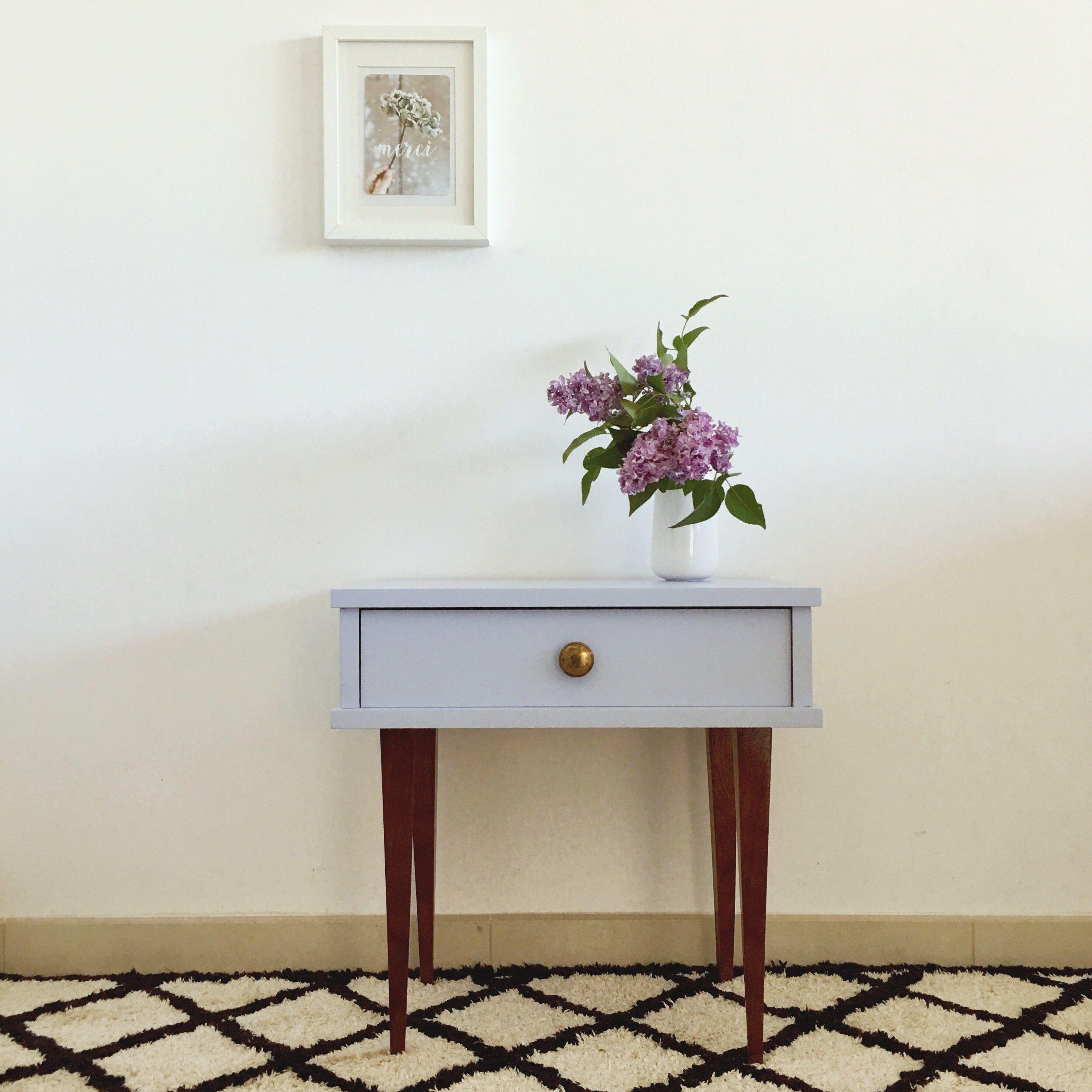 chevet vintage parme doccasion vintage design scandinave industriel ancien vendu - Table De Chevet D Occasion