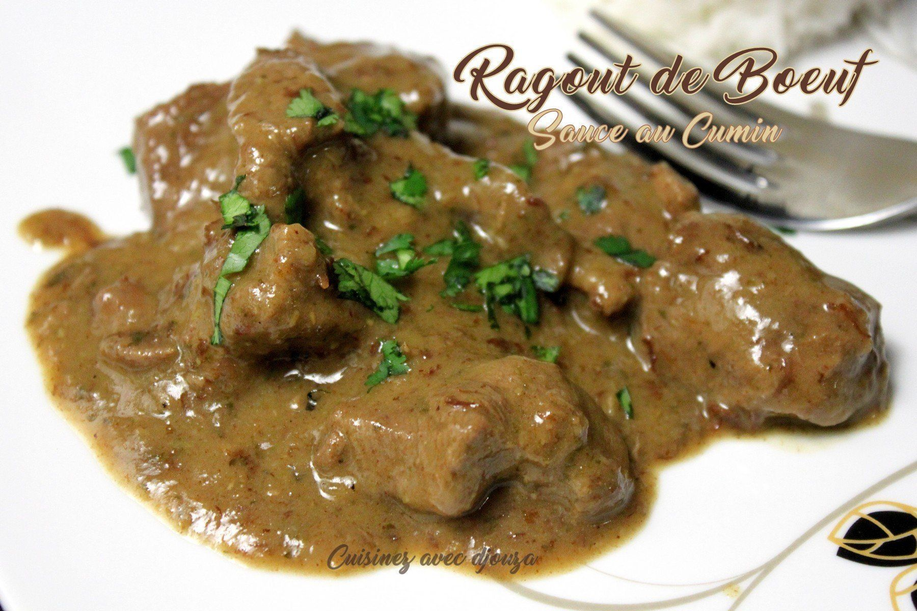 Photo of Beef stew with Egyptian cumin sauce-Beef stew with …-Ragoû…