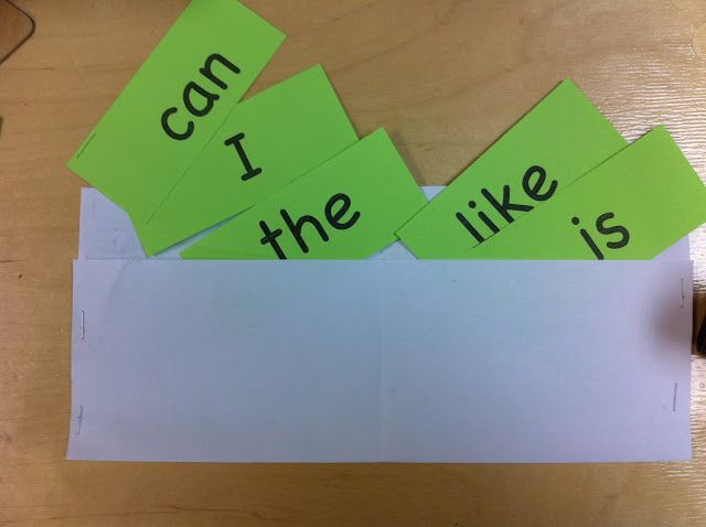 Have each child read the sight words. If they know the sight word – they earn the sight word dollar. Sight Word Wallet.