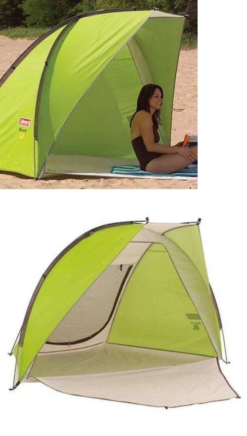 Canopies and Shelters 179011 Coleman Sun Shade Shelter Beach Canopy Outdoors C&ing Portable Instant Tent  sc 1 st  Pinterest & Canopies and Shelters 179011: Coleman Sun Shade Shelter Beach ...