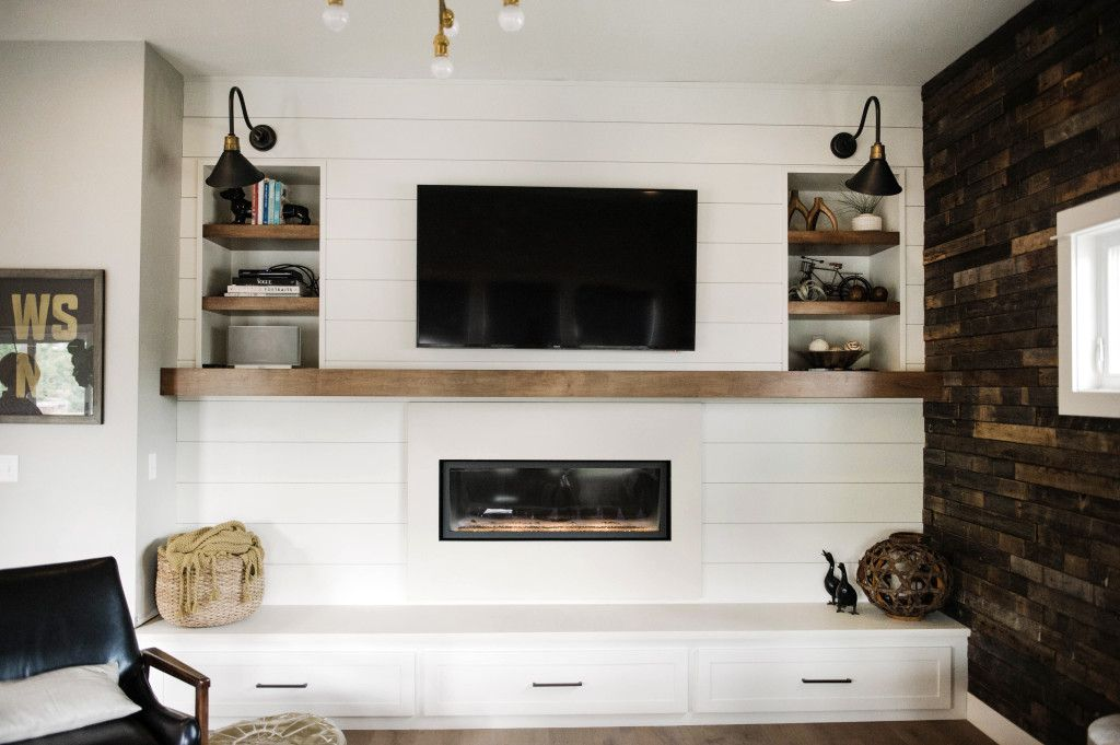 Fireplace Makeover....Complete | Fire it up | Pinterest ...