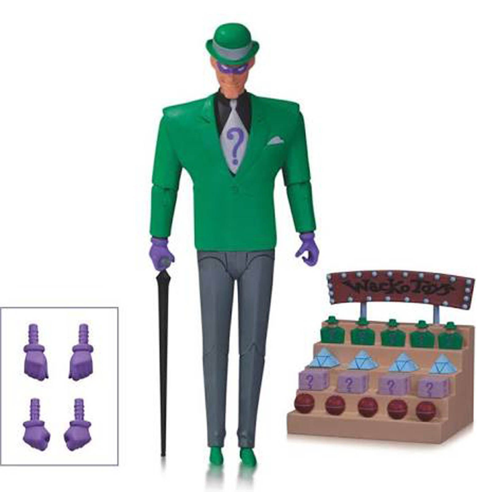 The Riddler Action Figure DC Collectibles Batman The Animated Series