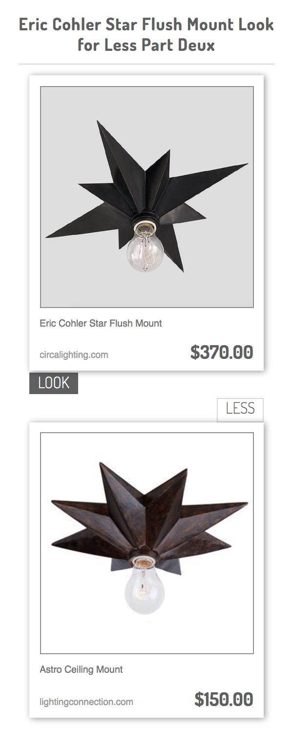 Eric Cohler Star Flush Mount Vs Astro Ceiling Mount Flush Mount Bronze Ceiling Lights Flush
