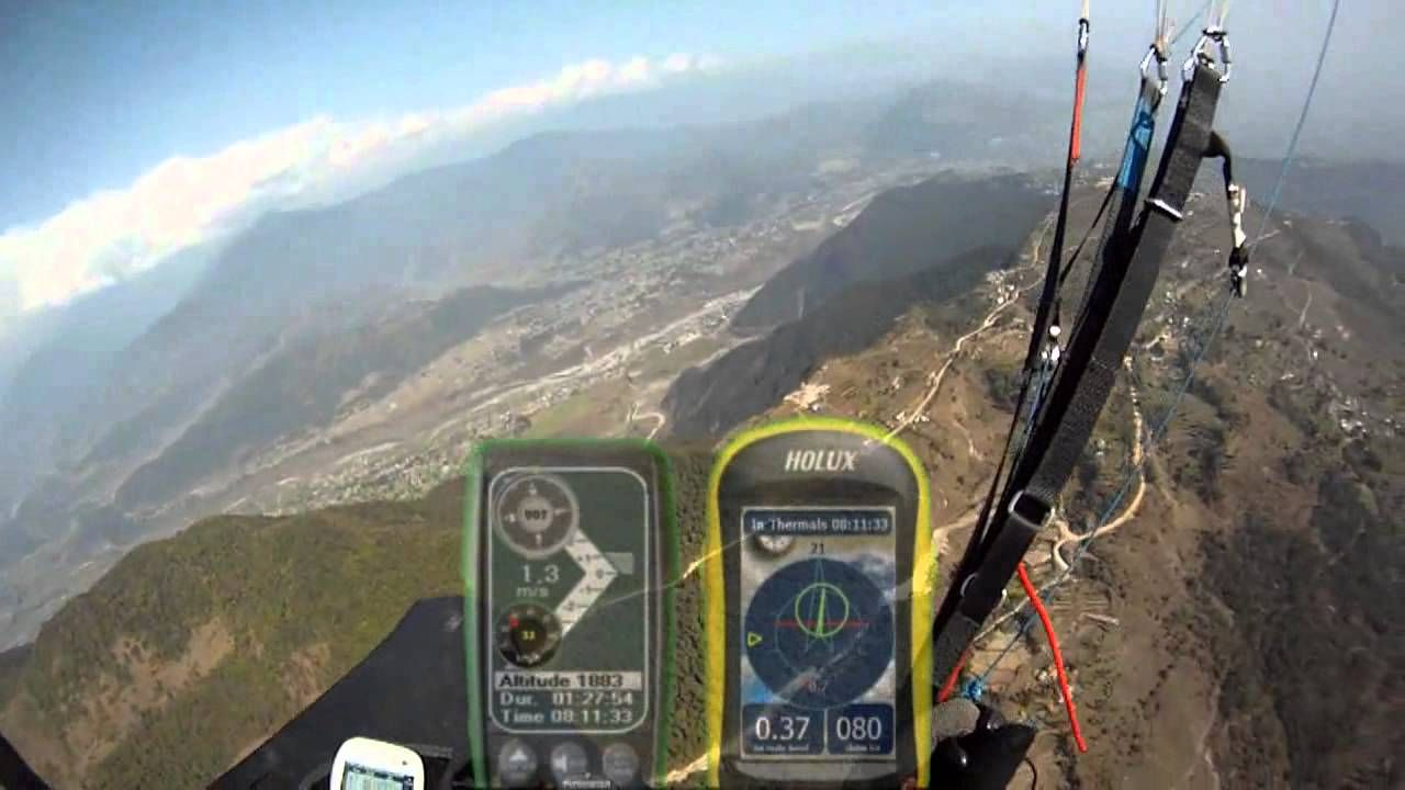 XC flight Nepal  Thermals finder examples  | Paragliding | Nepal