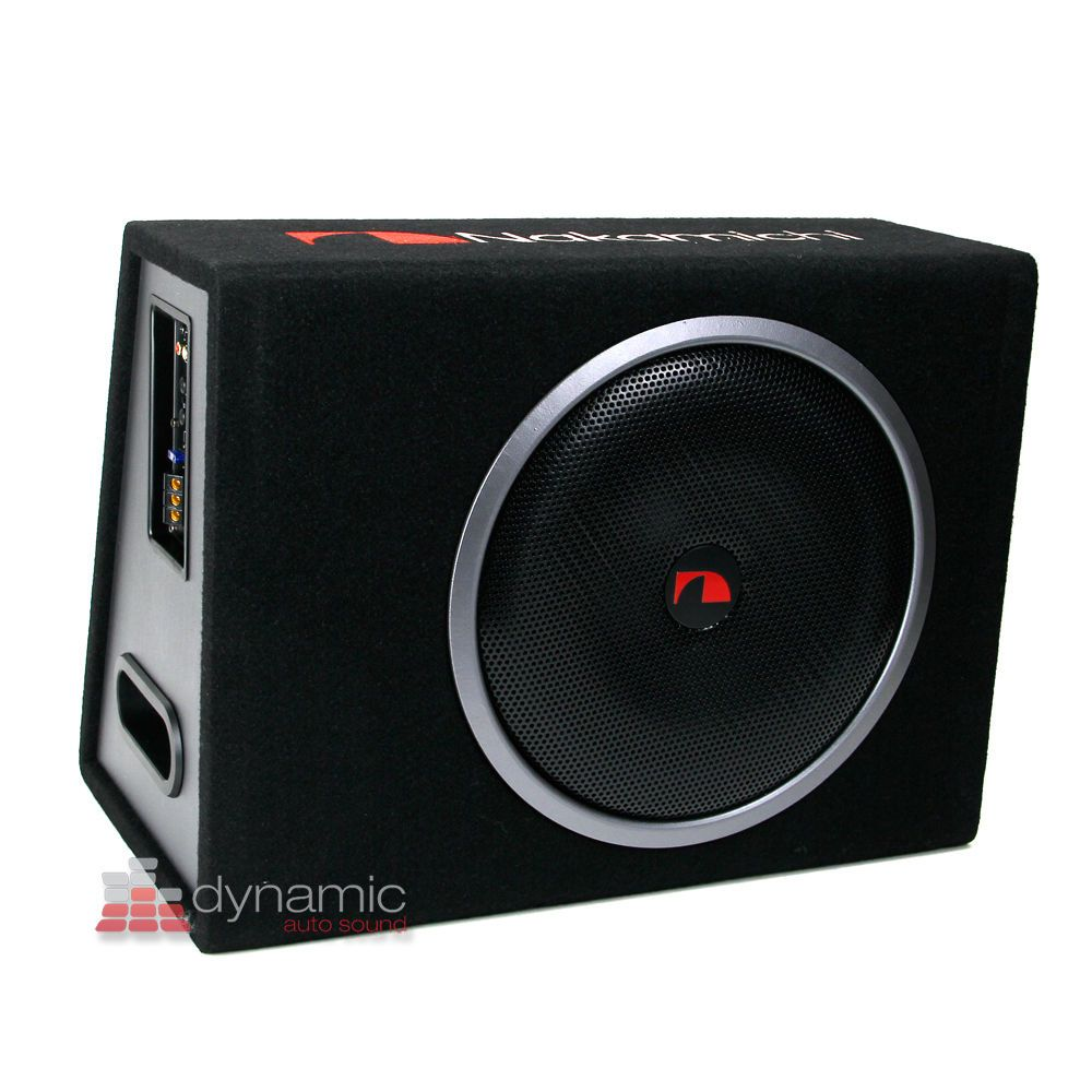 Nakamichi nbx30a 12 amplified active loaded powered subwoofer box 1 200w new ebay