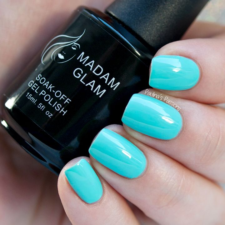 Madam Glam Gel Polish Caribbean Sea