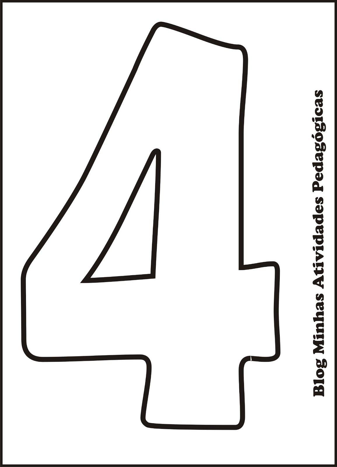 Quatro Png 1155 1600 Letras Do Alfabeto Para Impressao Molde
