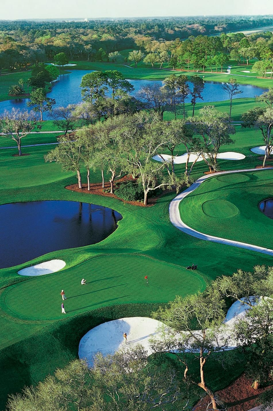 Aerial    The Cloister At Sea Island     Golf  Courses