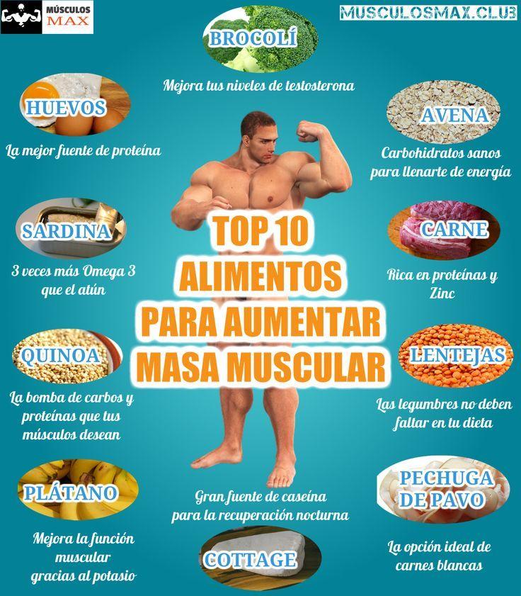 comida con carbohidratos para aumentar masa muscular
