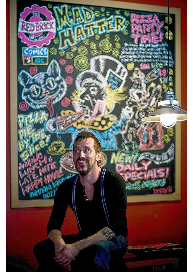 Chalk artist's work adds flavor to Red Brick menu | ThisWeek Community News