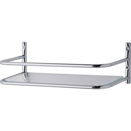 Bathroom Over Cistern Shelf - Chrome. | Bathroom storage ...